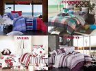 STYLISH Queen/King Size Bed Quilt/Doona/Duvet Cover Set New 100% Cotton