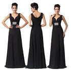 Stunning Beads Long Sexy Evening Formal Prom Gown Bridesmaid Wedding Maxi Dress
