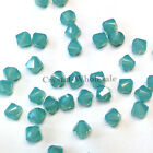 3mm Pacific Opal (390) Genuine Swarovski crystal 5328 / 5301 Loose Bicone Beads