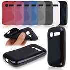 S-Line Wave Shape TPU Soft Case Cover Skin for Alcatel One Touch POP C1 OT 4015