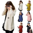 HOT! Loose Knitted Pullover Jumper Sweater Round Neck Long Sleeve Tops Knitwear