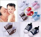 Baby Boy Girl Infant Toddler Soft Sole Crib Shoes Sneaker Age 0-18Months Stylish