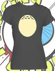 Totoro Belly Tshirt Funny Ladies Studio Ghibli My Neighbor Inspired T Shirt New