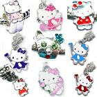 KIDS HELLO KITTY CHARM BEADS Pendant Charms Fit Silver Charm Bracelets