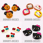 Hello Kitty 3D Mickey Mouse Cute Bread Resin Flat Back Cabochon Scrapbooking DIY