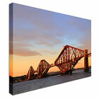 The Forth Rail Bridge Scotland Canvas Art Cheap Wall Print Any Size