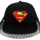 DC Comic Superman Flat Peak Snapback Flat Peak Cap Hip Is Hop Money Time Hat S