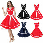 Maggie Tang 50s 60s Vintage Drancing Swing Jive Rockabilly Dress Ball Gown 526