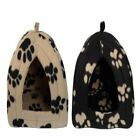 LUXURY BASKET FOR PETS PUPPY DOG WARM FLEECE WINTER BED IGLOO HOUSE SOFT NEW