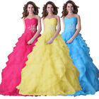 ❤Stunning❤PRINCESS❤Evening HOMECOMING BRIDAL WeddingProm Party A-LINE Long Dress