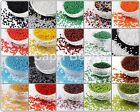 50g Glass Seed Beads - Size 6/0 -  Approx 4mm - Jewellery Making - Craft