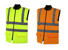 UCI VIZWELL Hi Vis Viz Reversible Bodywarmer Jacket - Various Colours & Sizes