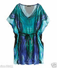 H&M Turquoise Beach Cover Up Tunic Med, Large BNWT