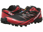 Salomon Mens S-LAB FELLCROSS 3 Black/Red/White Synthetic Running Shoes L36878100