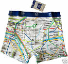 Boxer calecon - Collection Officielle RATP Plan Metro carte Subway PARIS France