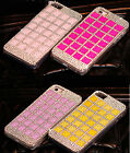 Luxury Rhinestone Diamonds Hard Case Cover For Samsung Galaxy Note 2 N7100 CSF