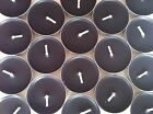 BN Set Of 6 Jasmine Noir Or Midnight Iris Scented Plain Black Tea Light Candles
