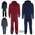 Womens Mens Unisex Quilted Diamond Hooded All In One Long Jumpsuit Hoodie Pants