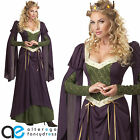 ADULT LADIES LADY IN WAITING FANCY DRESS COSTUME MEDIEVAL RENAISSANCE OUTFIT