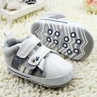 Baby boy casual classic Crib Shoes soft soled Shoes Size 0-6 6-12 12-18 month