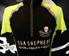 SALE  Sea Shepherd Jolly Roger  Cycle and running top Cooltex Tour Top