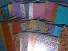 Kanban Textile Collection Card - 4x A4 Embossed Metallic - Options - BN Perfect