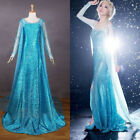 Купить Hallow Lady Frozen Princess Queen Elsa Snow Costume Cosplay Dress Adult S-L с доставкой по россии и снг
