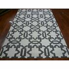 Safavieh Hand-Woven Dhurrie Ivory/ Grey Wool Area Rugs - DHU751A
