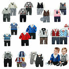 Baby Infant Boy Formal Smart Casual Bodysuit Clothes, Party / Xmas Dress 3-24M