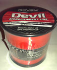 Rovex Devil Fishing Line Bulk 1/4lb Spool - RED