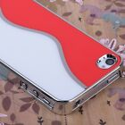 Ultra-thin Aluminum Steel Hard Super Strong Back Cover Matte Case For iPhone4 4S