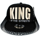 YLD King Of The Streets Snapback Flat Peak Baseball Hip Is Hop Cap Money Time