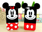 Cute Lovely Animal Big Ears Silicone Case Cover Skin F Iphone 4S 5 5S 6 6 Plus