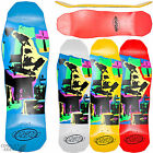 "HOSOI ""Pop Art 87"" Skateboard Deck Old Skool 10"" x 31.75"" Red Blue White Yellow"