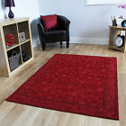 New Quality Small Large Modern Red Rugs Thin Flatweave Quality Living Room Mats