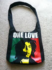*BOB MARLEY'S : ONE LOVE *  .. Shoulder... Book Bag...  Cross Body  Bag