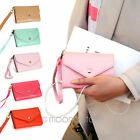 Envelope Wallet Case Simple Style iPhone 4 4S 5 Samsung S2 S3 Sugar Multi-Color