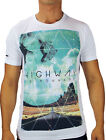 Oxygen Men's Designer Tee Shirt in White (S,M,L,XL,2XL and  3XL) RRP $49.95