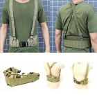 MOLLE Tactical Waist Soft Padded Belt with Suspender Camouflage/Black/Olive Drab