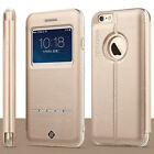 "Lux Magnetic Flip Leather Stand Skin Hard Case Cover for Apple 4.7"" iPhone 6 New"