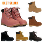 Ladies Winter Outdoor Boots Casual Grip Sole Cushion Collar Work Shoes UK 3 - 8
