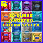 50 PRESERVATIVI DUREX Performa Elite Pleasuremax Defensor XL Anatomic Love MIX