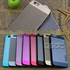 Luxury Metal Aluminum Brushed + PC Hard Back Cover Case Skin For iPhone 6 4.7''