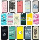Sayings Quotes Case Cover for Apple iPhone 6 & Plus - A4