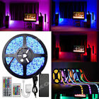 5-50M 300 LED RGB Colour Changing Waterproof Strip Light Remote Control Lighting