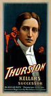 Photo Printed Old Poster Stage Theatre Great Magician Thurston Successor Kellar