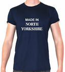 made in north yorkshire banter t shirt skipton selby whitby filey york