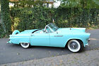 Ford+%3A+Thunderbird+Convertible+1955+Ford+Thunderbird%2DBeautiful+Turquoise+with+Kelsey+Hayes+%26+Continental+Kit