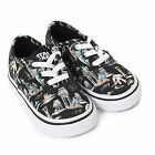 Vans Toddler Authentic Star Wars Dark Side / Planet Hoth Lace Up Trainer