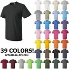 MEN'S MEDIUM WEIGHT PRESHRUNK,100% COTTON, CREWNECK, T-SHIRT XL 2X 3X 4X 5X 6X